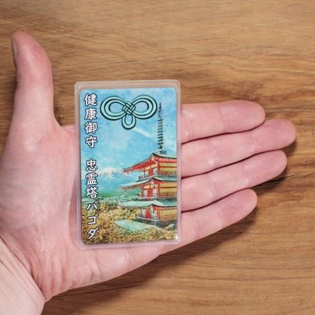 Salute (1) * Omamori benedetto da monaci, Kyoto * Per portafoglio