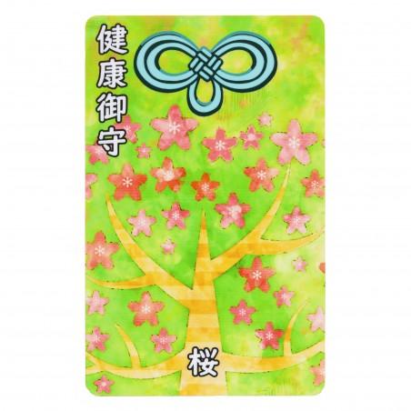 Salute (10) * Omamori benedetto da monaci, Kyoto * Per portafoglio