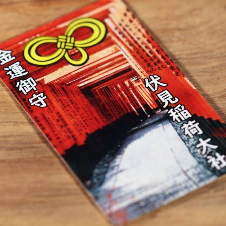 Dinero (3) * Omamori bendecido por monjes, Kyoto * Para billetera