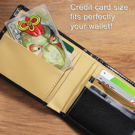 Dinero (6) * Omamori bendecido por monjes, Kyoto * Para billetera