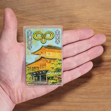 Dinero (8) * Omamori bendecido por monjes, Kyoto * Para billetera