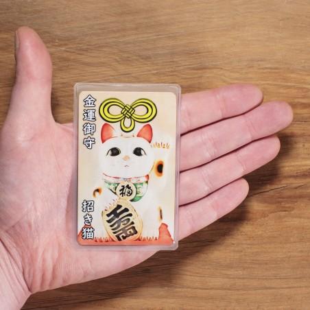 Argent (9) * Omamori béni par les moines, Kyoto * Pour portefeuille