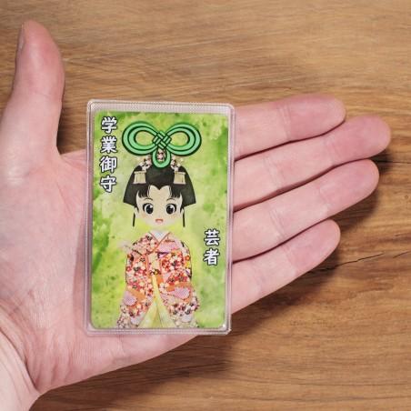 Scuola (3) * Omamori benedetto da monaci, Kyoto * Per portafoglio