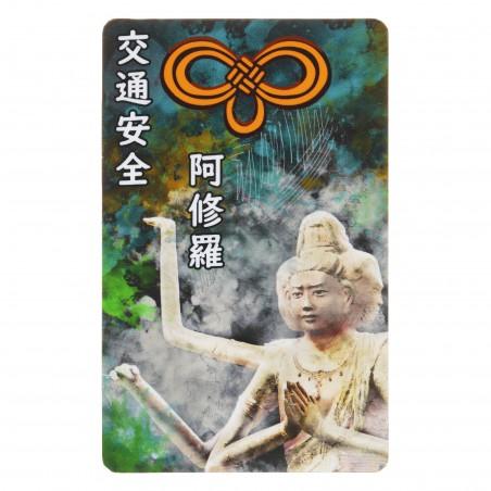 Traffico (1) * Omamori benedetto da monaci, Kyoto * Per portafoglio