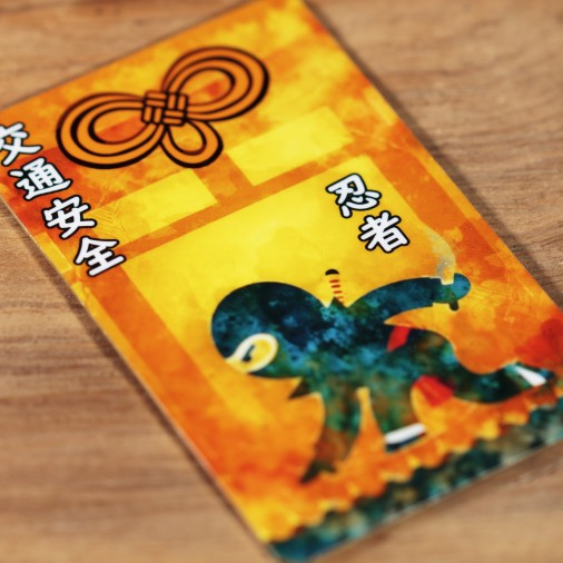 Tráfico (7) * Omamori bendecido por monjes, Kyoto * Para billetera
