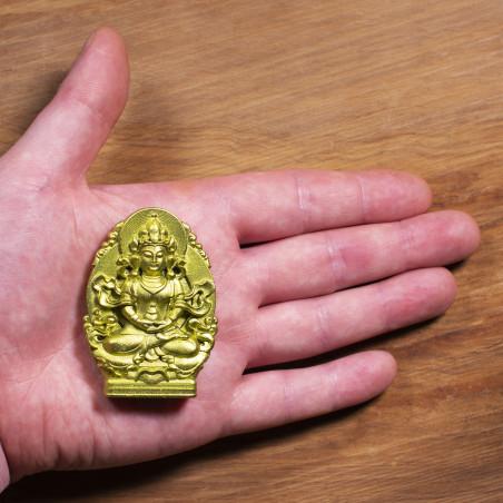 Salute (1a) * Omamori benedetto da monaci, Kyoto * Con divinità