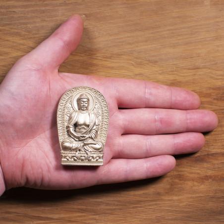 Salute (2a) * Omamori benedetto da monaci, Kyoto * Con divinità