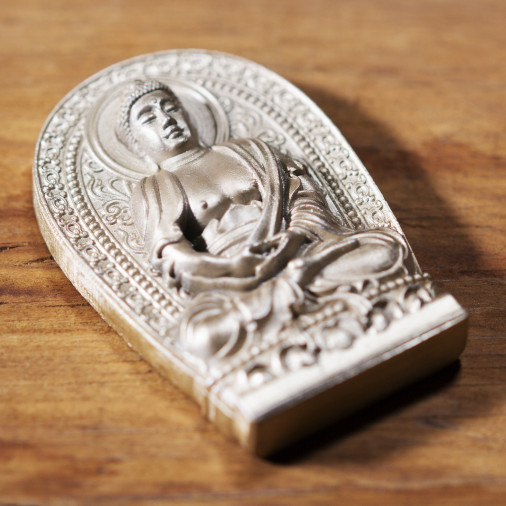 Health (2a) * Omamori blessed by monks, Kyoto * With deity