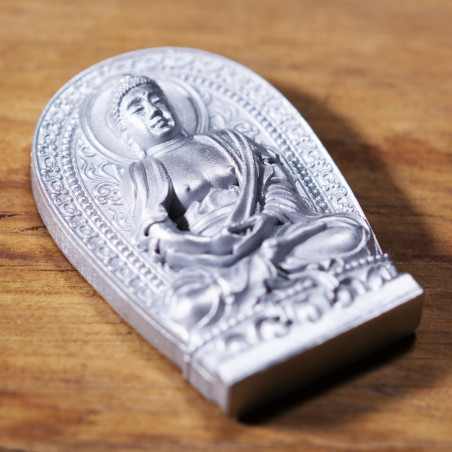 Health (2b) * Omamori blessed by monks, Kyoto * With deity