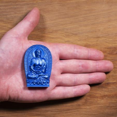 Salute (2c) * Omamori benedetto da monaci, Kyoto * Con divinità