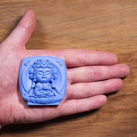 Salute (3a) * Omamori benedetto da monaci, Kyoto * Con divinità