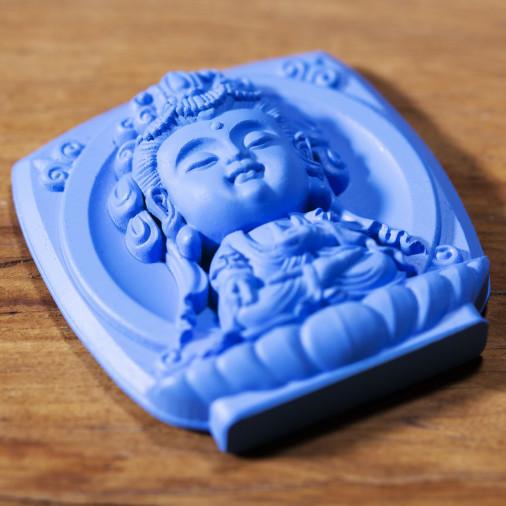 Salud (3a) * Omamori bendecido por monjes, Kyoto * Con deidad