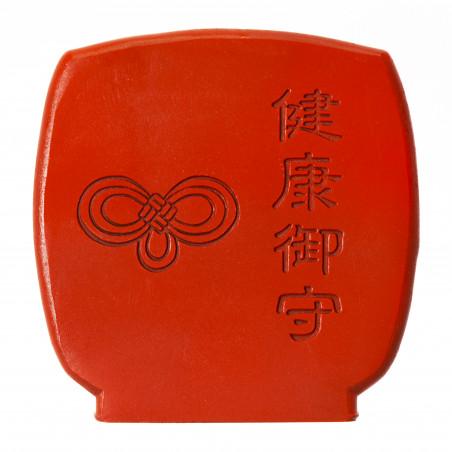 Salute (3b) * Omamori benedetto da monaci, Kyoto * Con divinità
