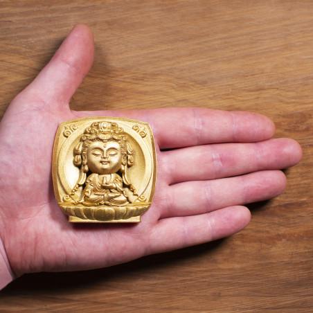 Salute (3c) * Omamori benedetto da monaci, Kyoto * Con divinità