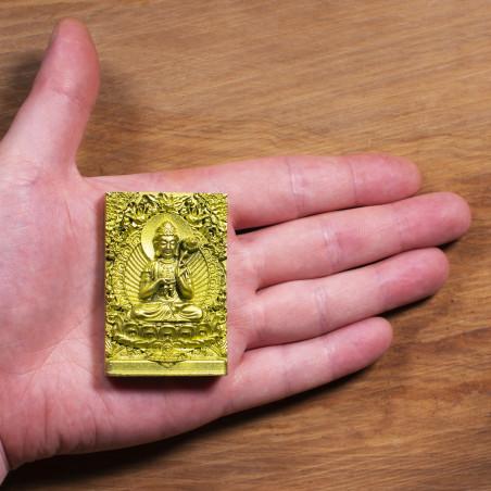 Salute (5a) * Omamori benedetto da monaci, Kyoto * Con divinità