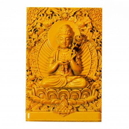 Salud (5b) * Omamori bendecido por monjes, Kyoto * Con deidad