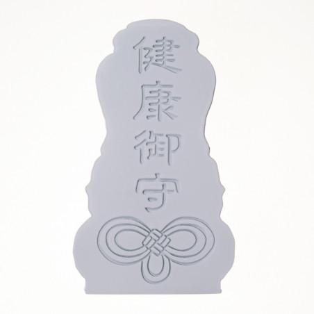 Salute (6a) * Omamori benedetto da monaci, Kyoto * Con divinità