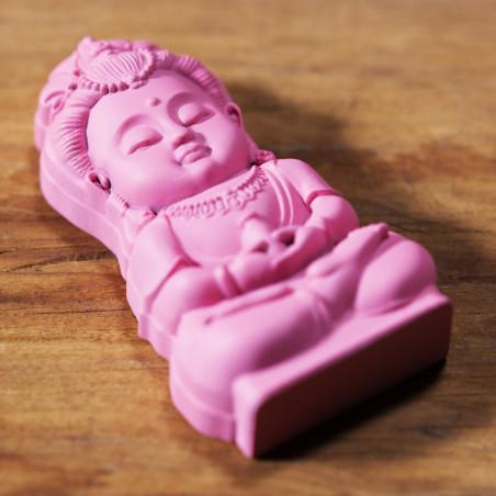 Salute (6b) * Omamori benedetto da monaci, Kyoto * Con divinità