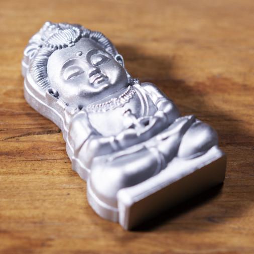 Salud (6c) * Omamori bendecido por monjes, Kyoto * Con deidad