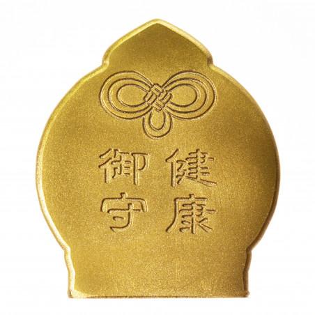 Salute (7a) * Omamori benedetto da monaci, Kyoto * Con divinità