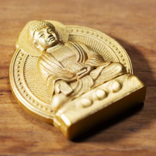 Salud (7a) * Omamori bendecido por monjes, Kyoto * Con deidad