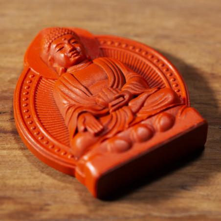 Salute (7b) * Omamori benedetto da monaci, Kyoto * Con divinità