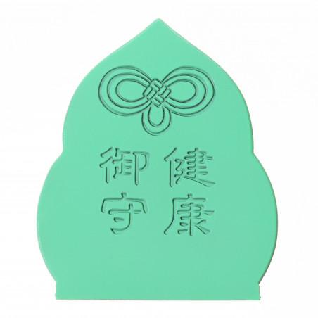 Salute (8b) * Omamori benedetto da monaci, Kyoto * Con divinità
