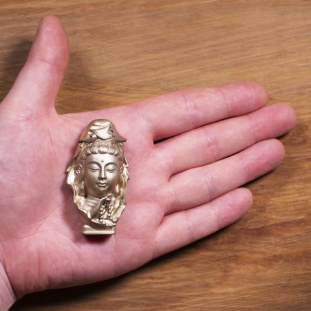 Salute (10a) * Omamori benedetto da monaci, Kyoto * Con divinità