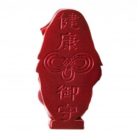 Salute (10b) * Omamori benedetto da monaci, Kyoto * Con divinità