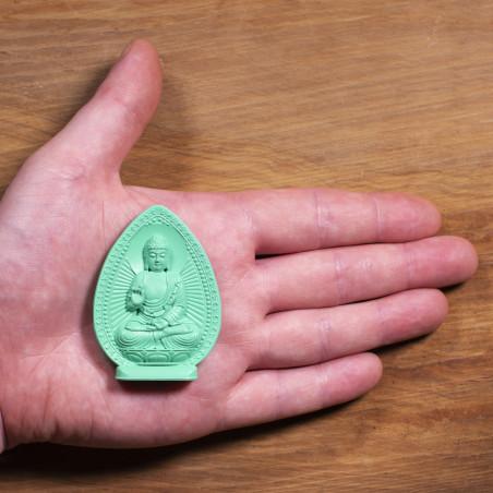 Argent (1b) * Omamori béni par les moines, Kyoto * Avec divinité