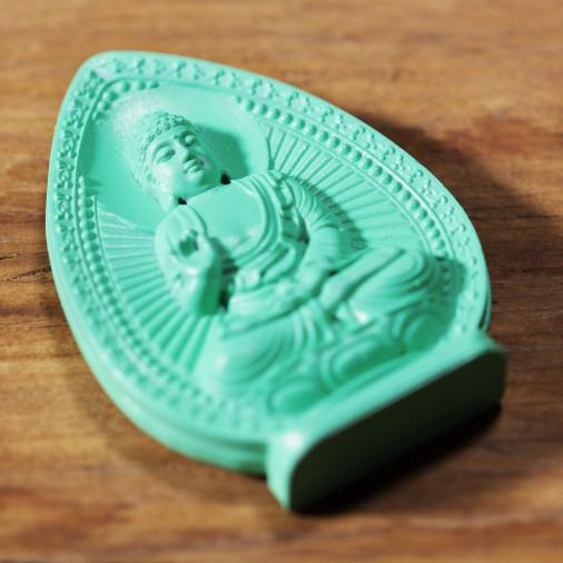 Soldi (1b) * Omamori benedetto da monaci, Kyoto * Con divinità