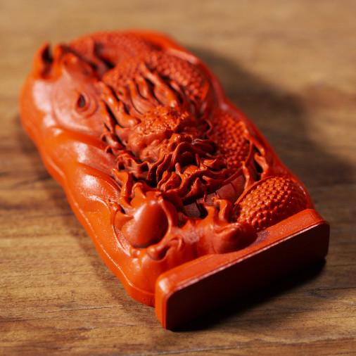 Dinero (2b) * Omamori bendecido por monjes, Kyoto * Con deidad