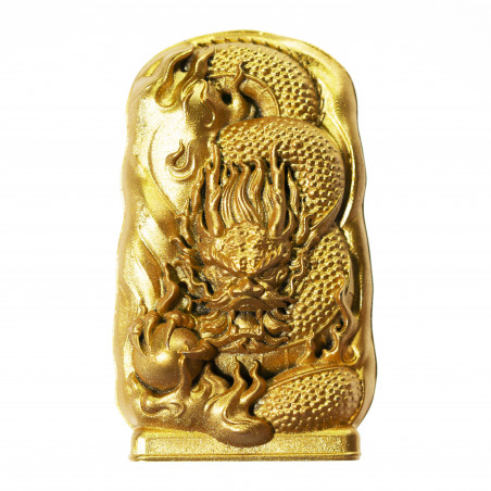 Money (2c) * Omamori blessed by monks, Kyoto * With deity
