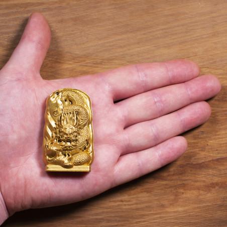 Soldi (2c) * Omamori benedetto da monaci, Kyoto * Con divinità