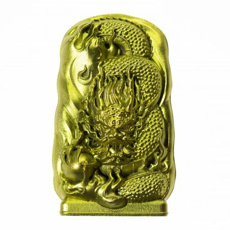 Soldi (2d) * Omamori benedetto da monaci, Kyoto * Con divinità