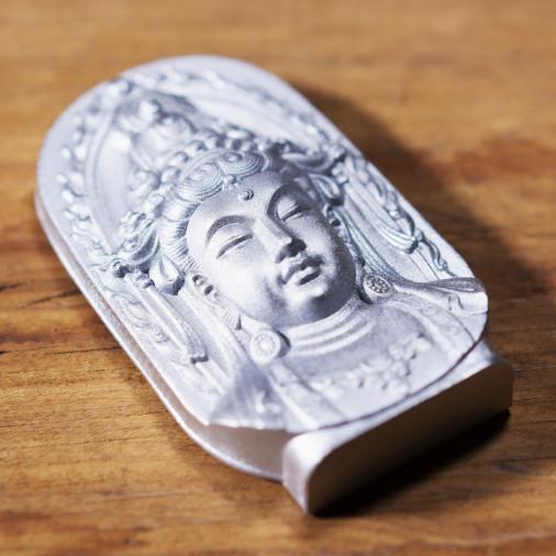 Soldi (3a) * Omamori benedetto da monaci, Kyoto * Con divinità
