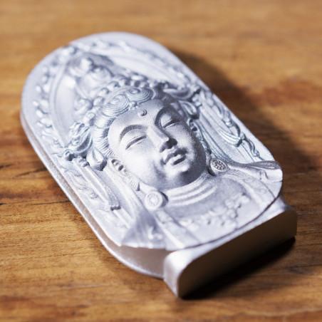 Dinero (3a) * Omamori bendecido por monjes, Kyoto * Con deidad