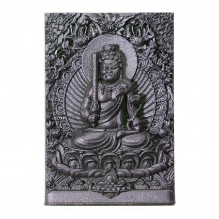 Argent (4a) * Omamori béni par les moines, Kyoto * Avec divinité