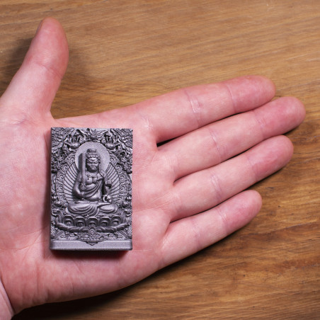 Money (4a) * Omamori blessed by monks, Kyoto * With deity