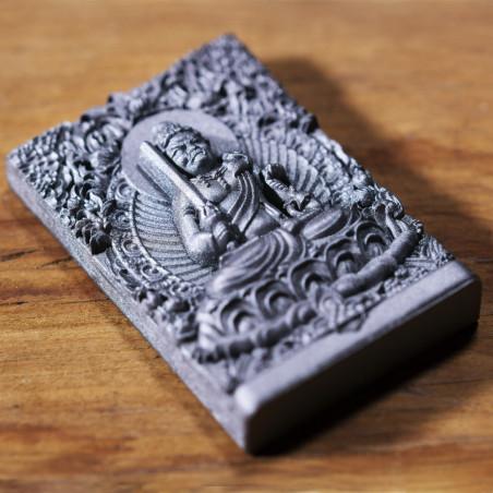 Soldi (4a) * Omamori benedetto da monaci, Kyoto * Con divinità
