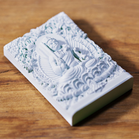 Money (4b) * Omamori blessed by monks, Kyoto * With deity