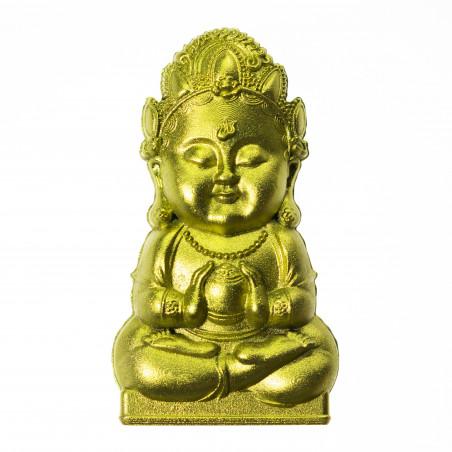 Dinero (5b) * Omamori bendecido por monjes, Kyoto * Con deidad