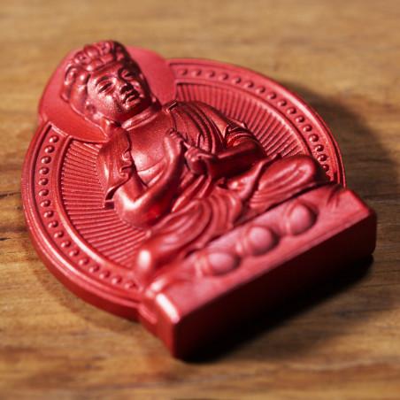 Dinero (6a) * Omamori bendecido por monjes, Kyoto * Con deidad