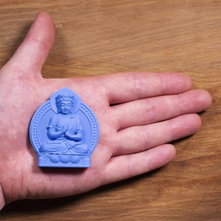 Soldi (6b) * Omamori benedetto da monaci, Kyoto * Con divinità