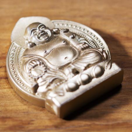 Argent (7a) * Omamori béni par les moines, Kyoto * Avec divinité