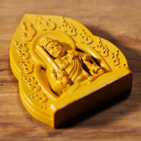 Soldi (8b) * Omamori benedetto da monaci, Kyoto * Con divinità