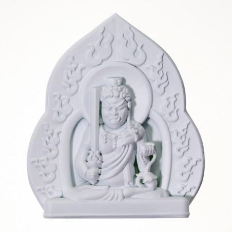 Argent (8c) * Omamori béni par les moines, Kyoto * Avec divinité