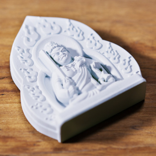 Soldi (8c) * Omamori benedetto da monaci, Kyoto * Con divinità