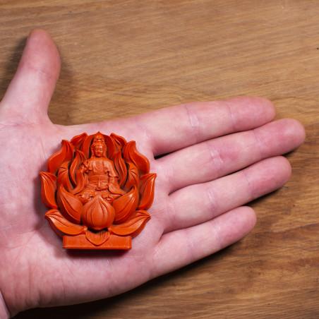 Amor (1c) * Omamori bendecido por monjes, Kyoto * Con deidad