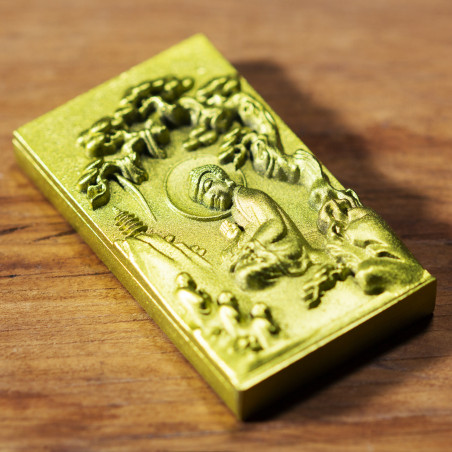 Love (9b) * Omamori blessed by monks, Kyoto * With deity